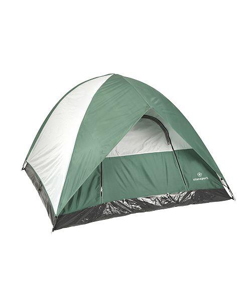 "Stansport Mckinley 3 Season Tent - 7' X 7' X 53"""