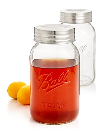 Ball Jar Super Wide Mouth 128-Oz. Jars, 2-Pc. Set