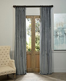 "Signature Blackout Velvet 50"" x 84"" Curtain Panel"