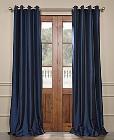 "Grommet Blackout Taffeta 50"" x 108"" Curtain Panel"