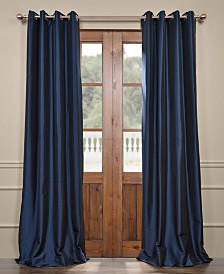 "Exclusive Fabrics & Furnishings Grommet Blackout Taffeta 50"" x 108"" Curtain Panel"
