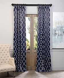 "Exclusive Fabrics & Furnishings Seville Blackout 50"" x 108"" Curtain Panel"