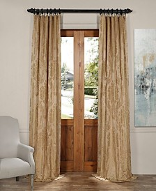 "Exclusive Fabrics & Furnishings Magdalena Jacquard 50"" x 84"" Curtain Panel"
