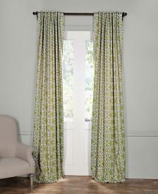 "Exclusive Fabrics & Furnishings Secret Garden Blackout 50"" x 84"" Curtain Panel"