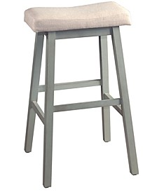 Furniture Moreno Non-Swivel Backless Counter Height Stool