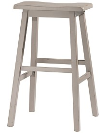 Moreno Non-Swivel Backless Bar Height Stool