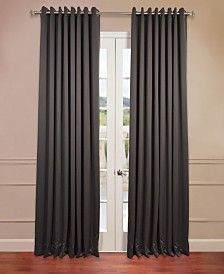 "Exclusive Fabrics & Furnishings Grommet Extra Wide Blackout 100"" x 84"" Curtain Panel"