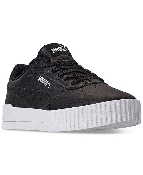 black puma womens shoes