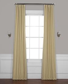 "Exclusive Fabrics & Furnishings Bellino Blackout 50"" x 108"" Curtain Panel"