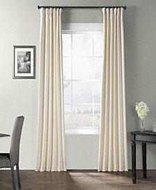 "Bark Weave Solid Cotton 50"" x 84"" Curtain Panel"