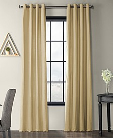 "Solid Country Cotton Grommet 50"" x 108"" Curtain Panel"