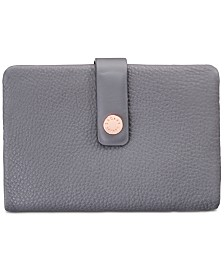 Radley London Larks Wood Medium Tab Pebble Leather Wallet