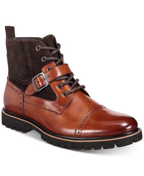 Bar III Rylee Buckle Boots, Created for Macy's
