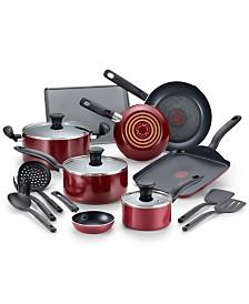 T-fal Culinaire 16-Pc. Nonstick Aluminum Cookware Set