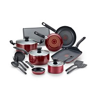 Deals on T-Fal Culinaire 16-Pc. Nonstick Aluminum Cookware Set