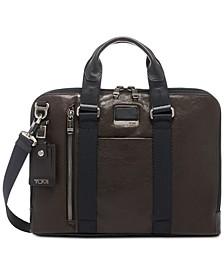 Men's Alpha Bravo Aviano Slim Briefcase