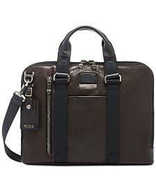 Tumi Men's Alpha Bravo Aviano Slim Briefcase