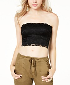GUESS Nola Lace Tube Top