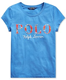 Polo Ralph Lauren Big Girls Logo T-Shirt