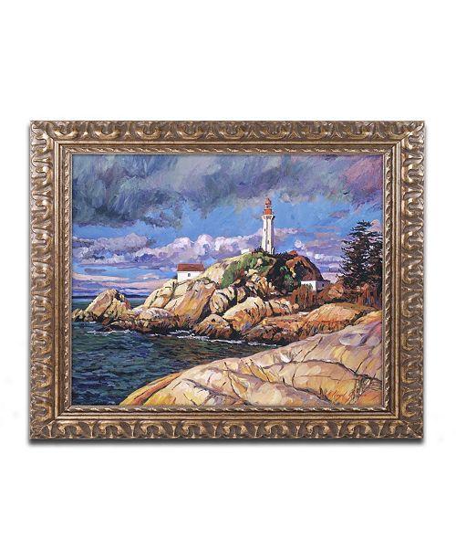 "Trademark Global David Lloyd Glover 'The Mariner's Sentina' Ornate Framed Art - 16"" x 20"""
