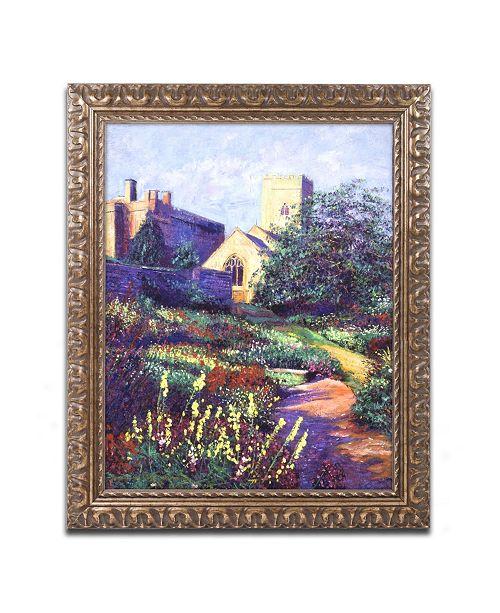 """Trademark Global David Lloyd Glover 'Dusk at Sunset' Ornate Framed Art - 16"""" x 20"""""""