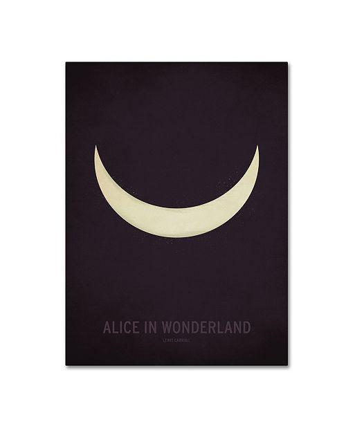 "Trademark Global Christian Jackson 'Alice in Wonderland' Canvas Art - 14"" x 19"""