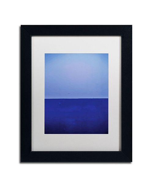 "Trademark Global Claire Doherty 'Silence' Matted Framed Art - 11"" x 14"""