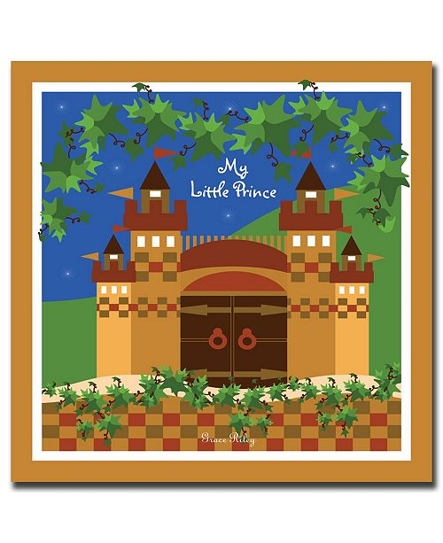 """Trademark Global My Little Prince by Grace Riley Canvas Art - 24"""" x 24"""""""
