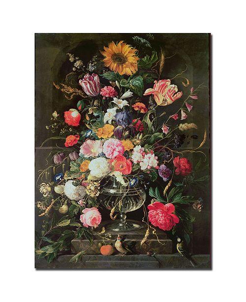 "Trademark Global Cornelis De Heem 'Still Life' Canvas Art - 47"" x 35"""