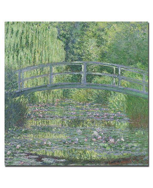 "Trademark Global Claude Monet 'The Waterlily Pond 1899' Canvas Art - 24"" x 24"""