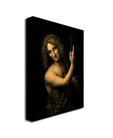 "Leonardo da Vinci 'St. John the Baptist, 1513-16' Canvas Art - 32"" x 26"""
