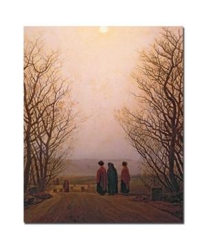 Caspar Friedrich Easter Morning, 1833 Canvas Art - 32 x 26