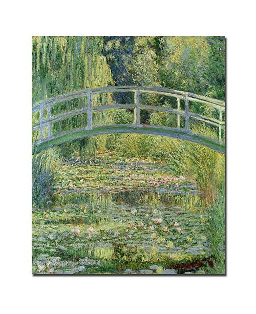"Trademark Global Claude Monet 'The Waterlily Pond Pink Harmony 1899' Canvas Art - 32"" x 24"""