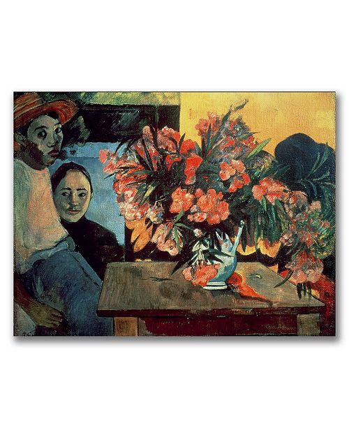 "Trademark Global Paul Gauguin 'Te Tiare Farani, 1891' Canvas Art - 32"" x 24"""