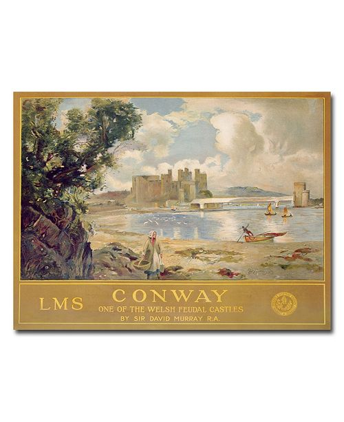 "Trademark Global David Murray 'Midland & Scottish Railway 1930' Canvas Art - 32"" x 26"""