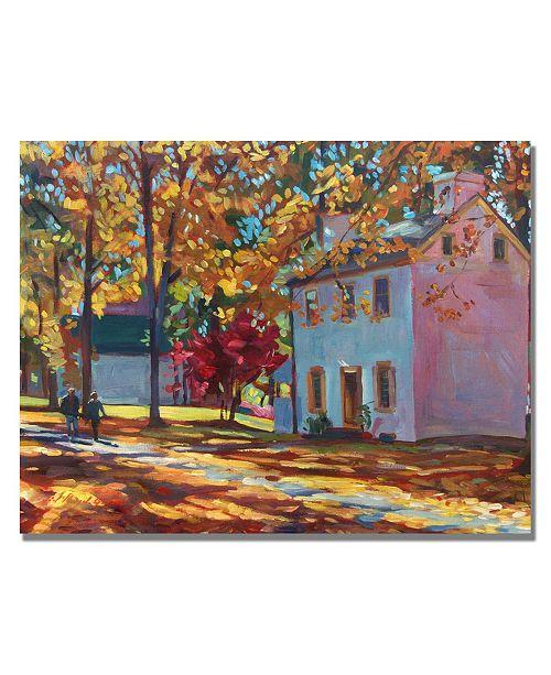 "Trademark Global David Lloyd Glover 'Pennsylvania Colors' Canvas Art - 24"" x 18"""