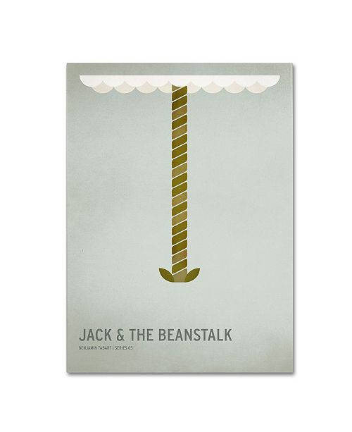 "Trademark Global Christian Jackson 'Jack and the Beanstalk' Canvas Art - 47"" x 30"""