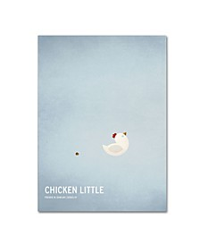 "Christian Jackson 'Chicken Little' Canvas Art - 19"" x 14"""