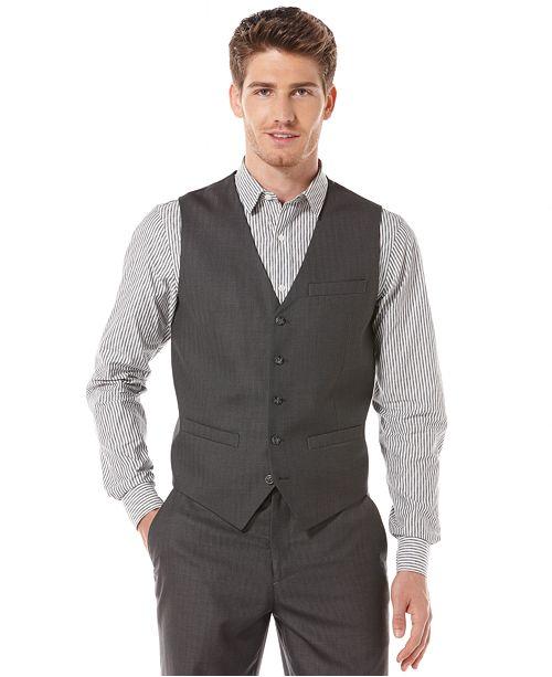 Perry Ellis Men's Regular Fit Vest