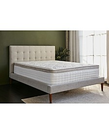 "Grand 14"" Gel Memory Foam Medium Eurotop Hybrid Mattress - Twin Size"