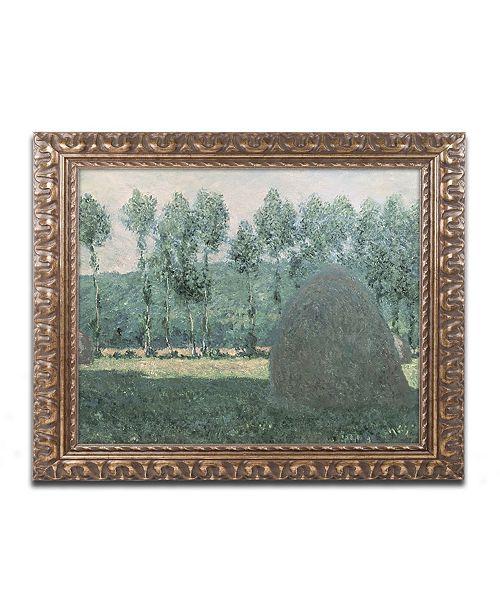 "Trademark Global Monet 'Haystacks near Giverny 1884-89' Ornate Framed Art - 16"" x 20"""