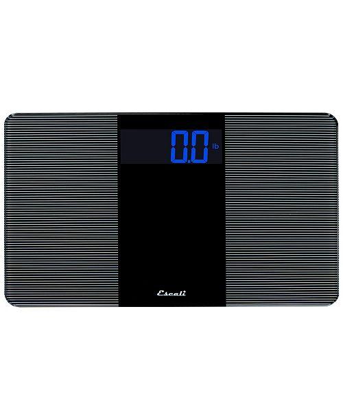 Escali Corp Extra Wide Bathroom Scale, 400lb