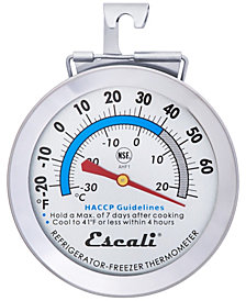Escali Corp Refrigerator/Freezer Thermometer NSF Listed