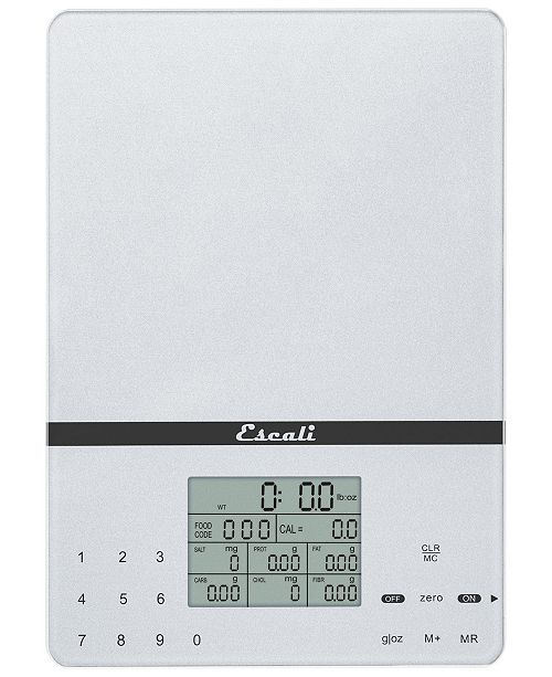 Escali Corp Cesto Portable Nutritional Tracker, 11lb