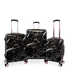 Vivian 3-Piece Hardside Spinner Luggage Set