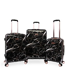 Juicy Couture Vivian 3-Piece Spinner Luggage Set