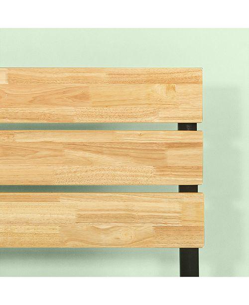 Zinus Paul Metal Amp Wood Platform Bed Wood Slat Support