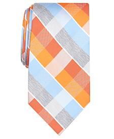 Perry Ellis Men's Oxford Classic Plaid Tie