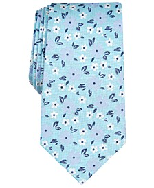 Men's Rixon Slim Floral Silk Tie