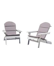 Malibu Outdoor Adirondack Chairs, Quick Ship (Set of 2)